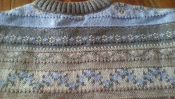 Sweater Pullover Tejido Lana Gimos Buzo Guardas Caba