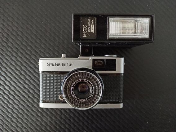 Câmera Olympus Trip 35