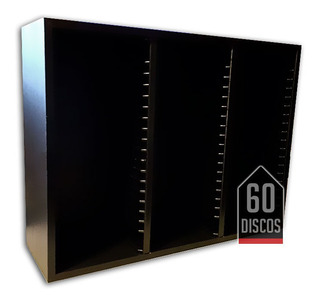 Mueble Porta Cds Discos Música Rack Madera Full Calidad