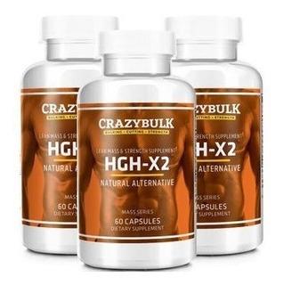 Hgh-x2 Musculo Magro Quemador De Grasa Mas Potente