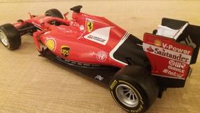 Miniatura F1 1:24 Ferrari Burago Kimi Raikkonen Nº 7