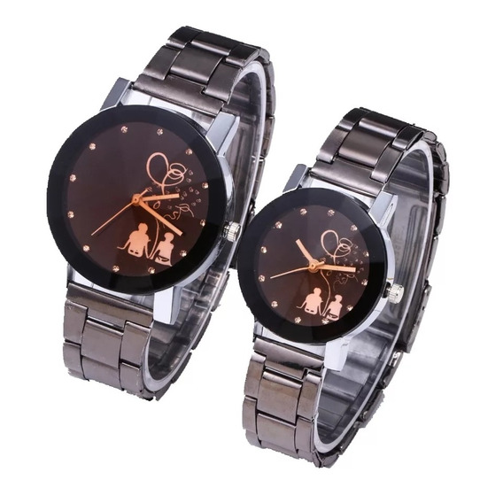 Reloj Duo Para El Y Ella Lote De 6 Duos (12 Piezas)
