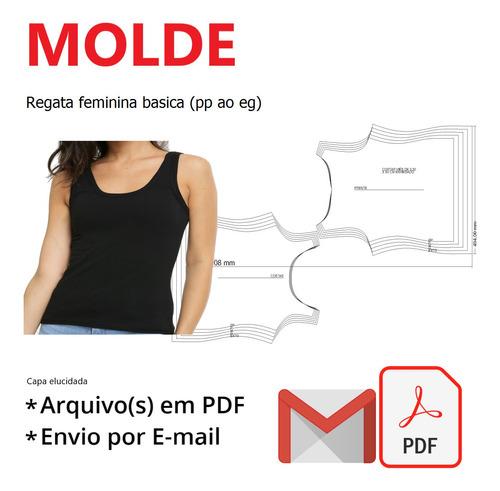 Regata Feminina Basica (pp Ao Eg)