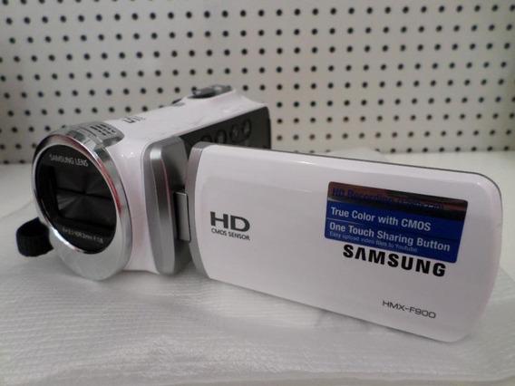 Camera Filmadora Samsung Hmx-f900 Filma Em Hd Zoom 52x