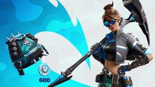 Fortnite - The Wavebreaker Pack + 600v - Xbox One O Ps4