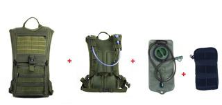 Mochila Hidratação Impermeável C/ Bolsa D`água Bike 2lt