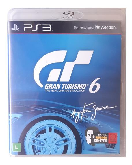 Gran Turismo 6 - Ps3 - Midia Fisica Original