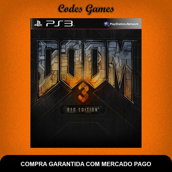 Doom 3 - Bfg Edition - Ps3 - Pronta Entrega