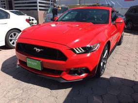 Ford Mustang 5.0l Gt V8 At 2016 Rojo Hangar