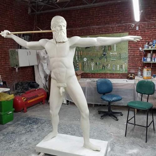 Imagem 1 de 5 de Esculturas, Resina, Fibra