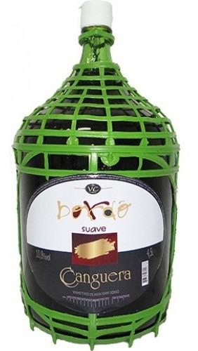 Vinho Tinto Suave Bordô 4,5 L - Canguera
