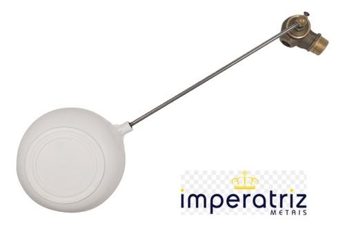Torneira Bóia P/caixa Dagua Vazão Total Metal 3/4 Imperatriz