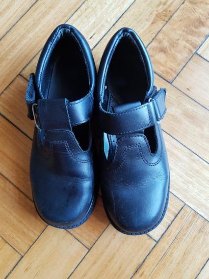 Zapatos Colegial Guillermina Nena 34 Impecables