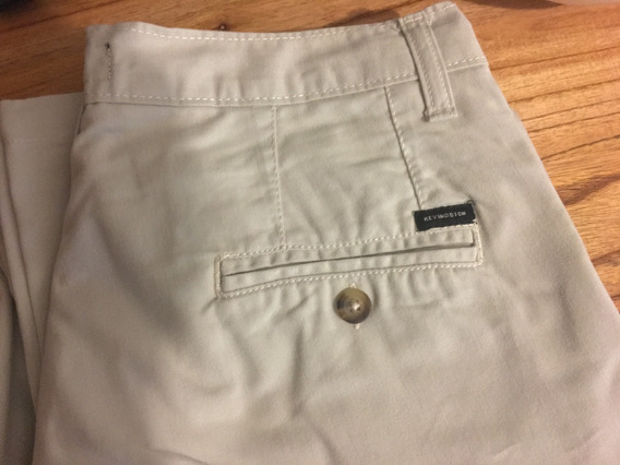 Pantalon Kevingston Gabardina Color Beige Claro Talle 40