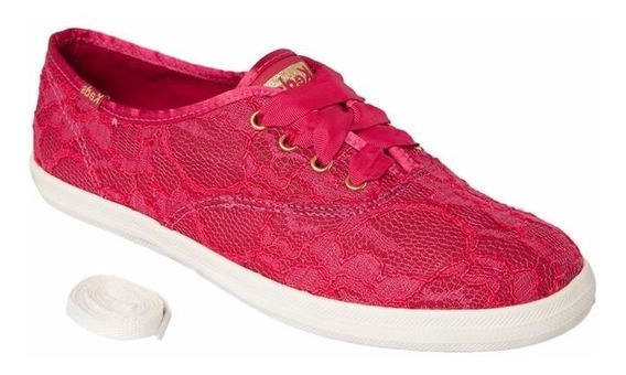 Tênis Keds Champion Lace - Kd467 - Cereja
