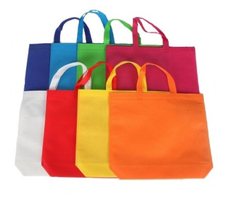 12 Bolsas Ecologlicas Eco Friendly Super Mercado