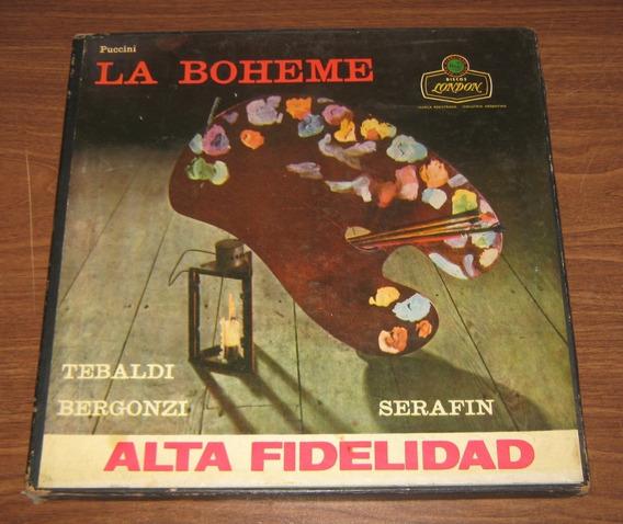 La Boheme - Puccini Opera Discos De Vinilo Box Set
