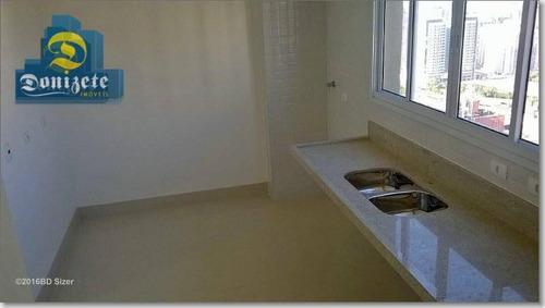 Cobertura Com 4 Dormitórios À Venda, 360 M² Por R$ 3.500.000,00 - Campestre - Santo André/sp - Co0445