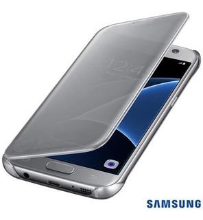 Samsung - Capa Clear View Original Galaxy S7 Flat Sm-g930
