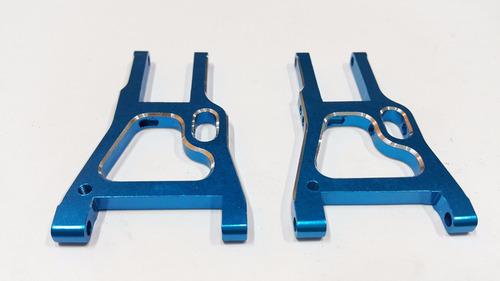 Imagem 1 de 3 de Hsp 102019 Bandeja Da Suspenção Diant De Aluminio Azul 1/10