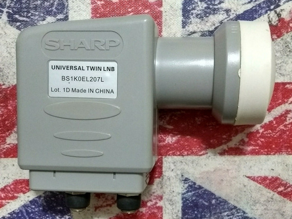 Lnb Duplo Ku Sharp Universal Original Full Hd