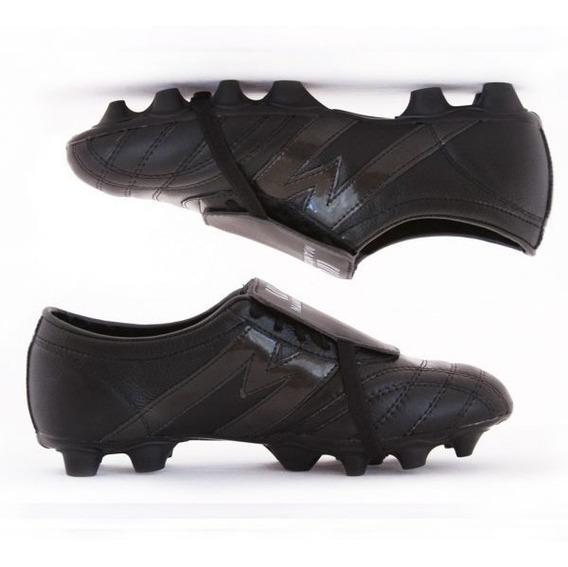 Zapato Fútbol Pro Manriquez Mid Sx Total Negro Envío Gratis