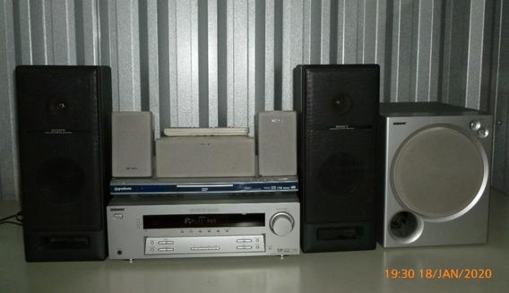 Home Theater 5.1* Sony Mod. Str-k750p Completissimo 2 Usado