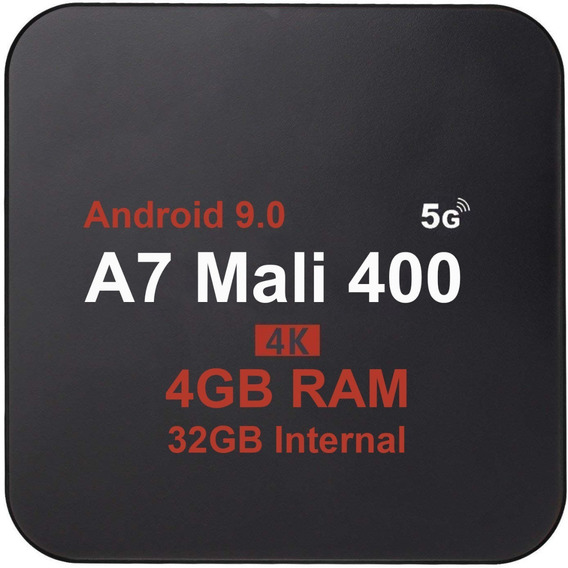 Conversor Smart Tv 4k Pro Android 9.0 4gb 32gb Promoçao Box