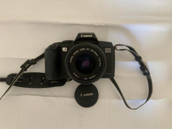 Câmera Canon Eos 5000/5000qd Analógica Funcionando