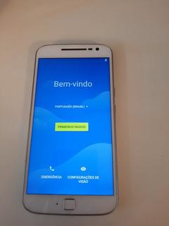 Celular Motorola Moto G 4 Plus. Capa D Madeira.