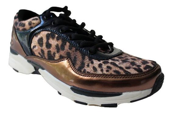 Zapatillas Mujer Animal Print Sweet Promocion Talle 39