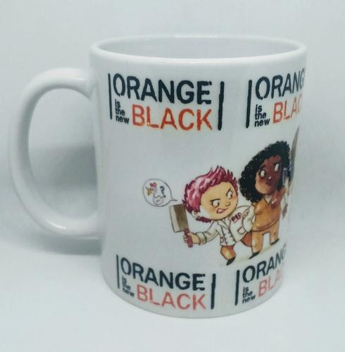 Caneca De Porcelana Personalizada Orange Is The New Black