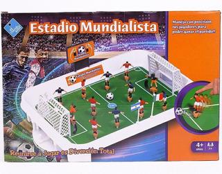 Juego De Futbol Estadio Mundialista Nuevo To4 7240 Ellobo