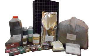 Kit Huerto Orgánico: 15especies+control+sustrato.+nutrición