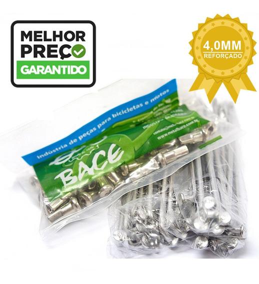 Jogo De Raios Inox Bace 4mm Nxr-150 Bros Dian E Trase