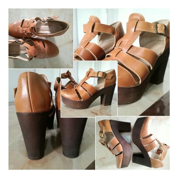 Zapatos Batistella Cuero N°39
