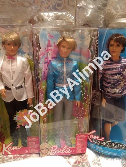 Barbie Bonecos Fashionista Ken 6 Diferentes Mattel