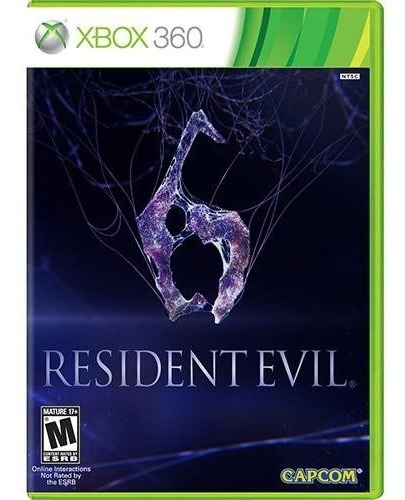 Resident Evil 6 - Xbox 360 Mídia Física