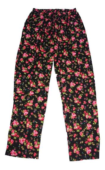 Pantalon Fibrana Con Bolsillos Y Lazo Talles 1 Al 5