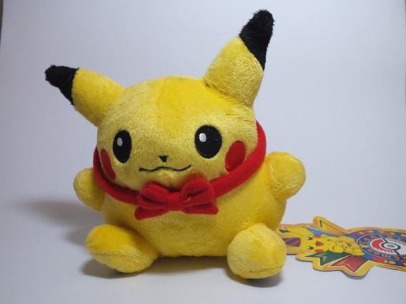 Pelúcia Pokemon Pikachu Edição De 10º Aniversário