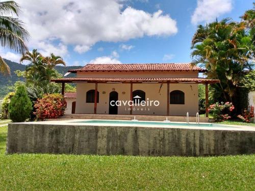 Casa Residencial À Venda, Condado De Maricá, Maricá. - Ca2791