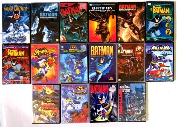 Dvd Dc Comics Batman 16 Filmes - Original - Lacrado