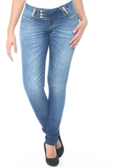 Calça Premium Jeans Sawary Legging Stretch Lindíssima! #scn