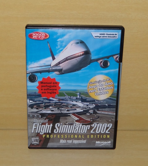 Flight Simulator 2002 - Professional Edition - Lacrado - Pc
