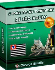 Lista De E - Mails De Diretores De Empresas De São Paulo