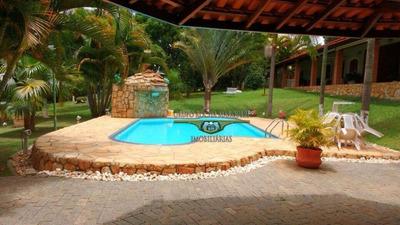 Chácara Com 3 Dormitórios À Venda, 2500 M² Por R$ 750.000 - Chácara Residencial Paraíso Marriot - Itu/sp - Ch0012