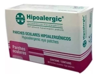 Parche Ocular Adhesivo Hipoalergic X 20 Adultos O Pediatrico