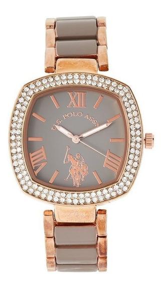 Relógio Ouro U.s. Polo Assn. Feminina Pronta Entrega