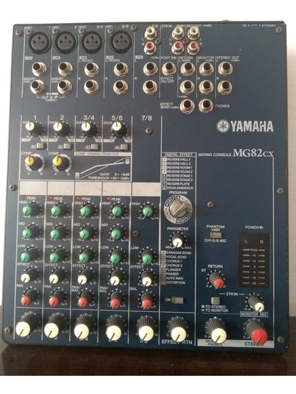 Mesa De Som Yamaha Mg82cx