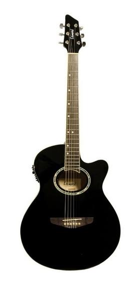 Guitarra Electroacústica Leonard Con Corte Y Ecualizador